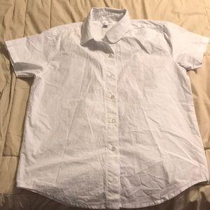 American Apparel - short sleeve button down shirt.